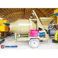 Buy cheap Self Loading Small Concrete Mixture Machine , 500 Liter Cement Mixer Machine CE Certificated from wholesalers