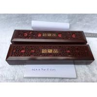 Buy cheap Antique Carved Wooden Jewelry Box For Necklace Or Luxury Pen with Rectangle Shaped from wholesalers