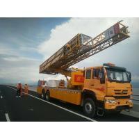 Buy cheap 22 M Under Bridge Inspection Platform In Yellow Color , Under Bridge Work Platform from wholesalers