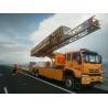 Buy cheap 22 M Under Bridge Inspection Platform In Yellow Color , Under Bridge Work from wholesalers