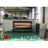 Buy cheap Automatic 5 Colors Flexo Printer Slotter Die Cutter High Definition For Paper Forming from wholesalers