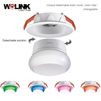 Buy cheap Hot sell indoor supermarket office lighting detachable recessed mount 7w led downlight from wholesalers