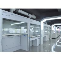Buy cheap Stainless Steel Walk In Fume Hood Laboratory Furniture Type Exhuast Air R 1500-3000m³/h from wholesalers