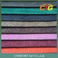 Buy cheap 100% Polyester 145cm Width 280 - 300gsm Chenille Sofa Seat Fabric With T/C Backing product