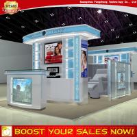 Buy cheap Customize mall teeth whitening kiosk store fixture from wholesalers