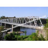Buy cheap High Performance Temporary Galvanized Surface Steel Bailey Bridge with Heavy Load Capacity from wholesalers