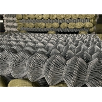 Buy cheap 3.0mm galvanized wire woven chain link fence 75x75mm mesh chain link wire mesh rolls from wholesalers