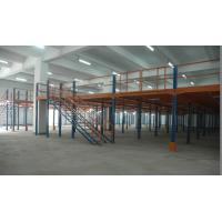Buy cheap Medium Duty Industrial Storage Mezzanine Floor Steel Platform For Electronic from wholesalers