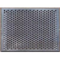 Buy cheap Silver Metal Net Sheet Metal Parts , SUS304 Stainless Steel Laser Cutting Service from wholesalers