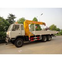 dongfeng 6*4 12ton cargo truck with crane for sales, hot sale 210hp dongfeng dump truck with 8ton-12ton XCMG brand crane