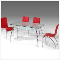 Buy cheap Square Clear Tempered/Toughened Glass Table Top from wholesalers