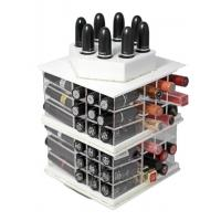 Buy cheap Spinning Cosmetic Display Acrylic Lipstick Stand Holder Storage product