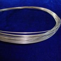 Buy cheap 99.8% Gr2 Titanium wire of coil or straight type for industrial use with metals color from wholesalers