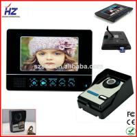 Buy cheap memory card  ir night vision apartment video door phone intercom system from wholesalers