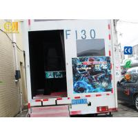 Buy cheap VR Theme Park Mobile Movie Theater Truck Equipment With 2 3 4 6 8 9 12 Seats product