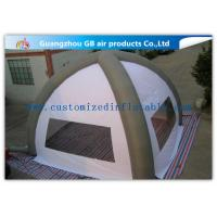Buy cheap White 8m Classic Inflatable Air Tent Spider Dome Inflatable Tent With Air Columns for Events from wholesalers