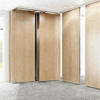 Buy cheap Modular Hanging Folding Room Partitions MDF + Aluminum Material Sound Insulation from wholesalers