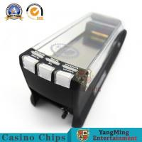 Buy cheap Casino Playing Card Dealing Shoe With Baccarat System Display 8 Decks Playing Cards Shuffler from wholesalers