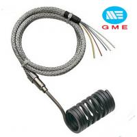 Buy cheap PVC Extruder Hot Runner Coil Heaters Spring Coil Heater With Metal Mesh Lead Wire from wholesalers