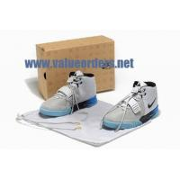 Buy cheap Nike Air Yeezy 2 shoes white grey black shoes from wholesalers