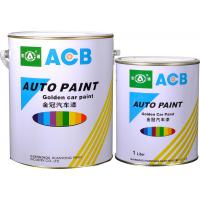 Buy cheap Semi transparent Topcoat Paint , A141 Brilliant White Pearl with self dry acrylic resin from wholesalers
