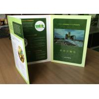 Buy cheap Custom design 7'' tft screen multi-pages LCD video brochure A4 portrait size  folded video book printing for promotion from wholesalers