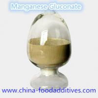Buy cheap Manganese Gluconate Nutrition enhancers Food grade Food additives CAS:6485-39-8 from wholesalers