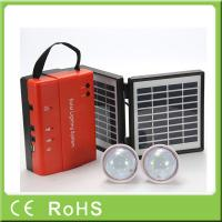 3.4W 9V portable lighting energy kit mini solar lighting system home
