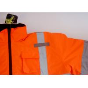Buy cheap Winter Waterproof Hi vis Reflective Safety Jacket Short Bomber Jacket ANSI ISEA from wholesalers