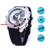 Buy cheap Hidden Camera | 1080P Voice Activation hidden Watch Camera IR Night Vision IR 8GB from wholesalers
