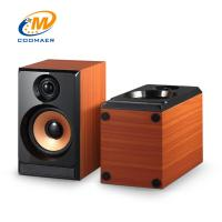 Buy cheap OEM Perfect Sound Wood Mini USB 2.0 CH Gaming PC Speaker with Woofer from wholesalers
