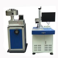 Buy cheap Aluminum Fiber Laser Marking Machine Marking Area 200X200MM Letter from wholesalers