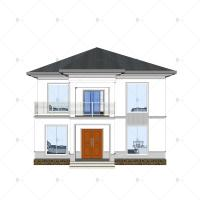 Buy cheap China Luxury Villa - (QB15) Sturdy Durable Steel Structure Prefab Model House Building Plans Designs FactoryLuxury Villa from wholesalers