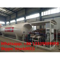 Buy cheap 30m3 15tons skid lpg gas  station with lpg gas dispenser for sale, Wholesale bottom price 30,000L skid lpg gas plant from wholesalers