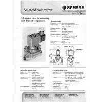 Buy cheap TMS-80 Temperature Witch / Solenoid Drain Valve 4332 , Air Compressor Pressure Switch HP 4358 from wholesalers
