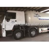 Buy cheap Euro II Propane Tank Trailer , Anhydrous Ammonia Transport Trailers Low Emission from wholesalers