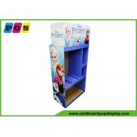 Buy cheap Advertising POS Toy Display Stand Flat Packing For Disney Frozen Toys FL202 from wholesalers