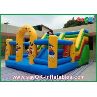 Buy cheap Mickey Mouse Castle Bounce House Inflatable For Family Entertainment from wholesalers