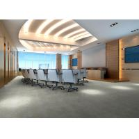 Buy cheap Carpet Lines Meeting Room SPC Vinyl Flooring / Click LVT Tile Flooring from wholesalers