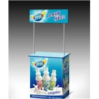 Buy cheap Portable Trade Show Display Counter For Advertising Promotion PP ABS Aluminum Materials from wholesalers
