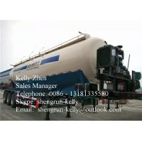 Buy cheap 50000L Bulk Cement Trailer with v - shaped / double / triple silo from wholesalers