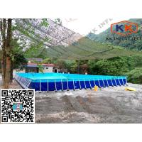 Buy cheap Square Inflatable Swimming Paddling Pool , inflatable above ground pools from wholesalers