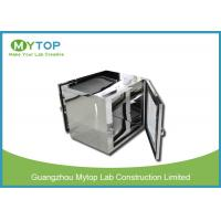 Buy cheap 304 SS Laboratory Pass Box For Microbiology Clean Room With UV Light from wholesalers