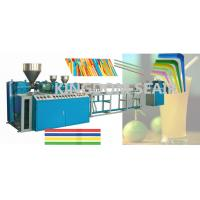 Buy cheap drinking straw making machine, straw extrusion line, straw extrusion machine,cotton stick making machine from wholesalers