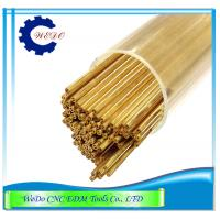 Buy cheap 0.6x400mmL Double Hole EDM Brass Tube / Eletrode Pipe For EDM Drilling Machine from wholesalers