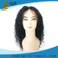 Buy cheap Natural Full Lace Human Hair Wigs Deep Wave Soft Smooth For Black Women from wholesalers