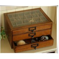 Buy cheap Vintage wooden treasure chest with drawers from wholesalers