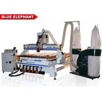 Buy cheap 4 X 8 ATC CNC Router Plastic Carving Machine 0 - 18000RPM Spindle Speed from wholesalers