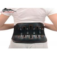 Buy cheap Leather Sports Lumbar Support Belt For Back Pain , S - XL Size Custom from wholesalers
