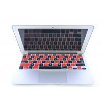 Buy cheap Black Red Silicone Laptop Keyboard Protective Film For iPad Air / iPad 5 from wholesalers